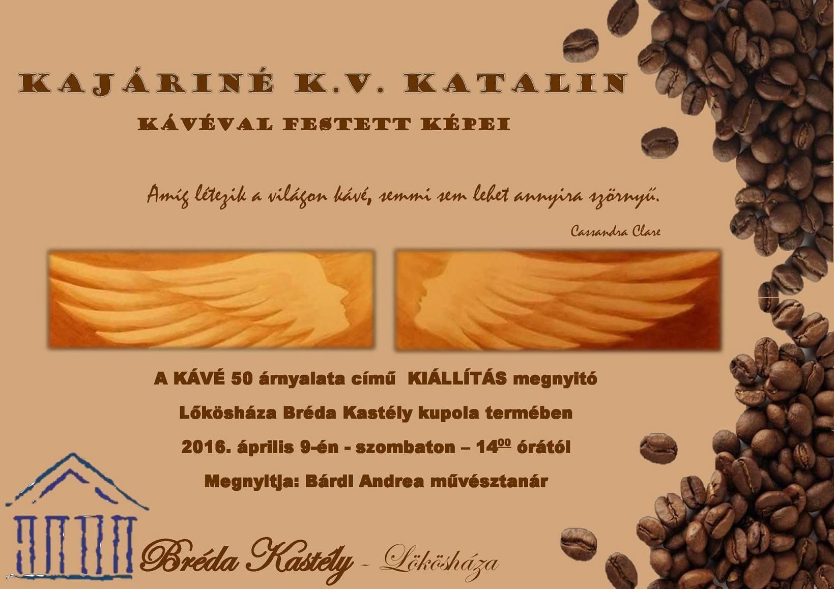 Kávéfestmények