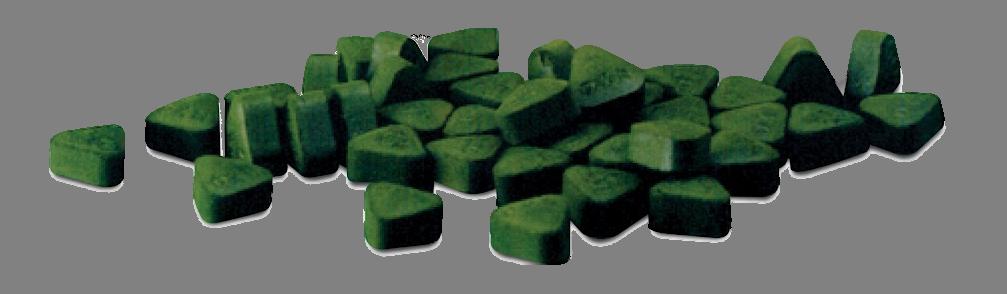 spirulina-tabletták