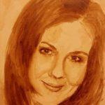 Kávéfestmény, katacafe, kávészenvedély, ganoderma, kávé, portré